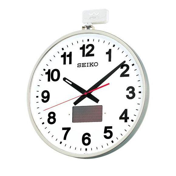 SEIKO セイコー 掛け時計 オフィスタイプ ソーラー屋外用 電波 時計 (SF211S) (検) 時計 掛け時計 掛時計 かけ時計 木製
