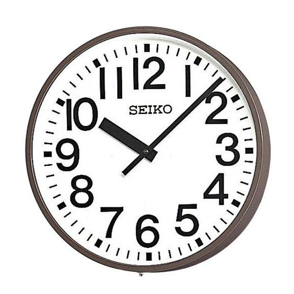 SEIKO セイコー 壁掛型 電波時計・交流電流式 屋外用 (SFC-503R) (検) 時計 掛け時計 掛時計 かけ時計 木製