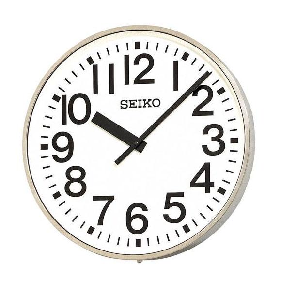 SEIKO セイコー 壁掛型 電波時計・交流電流式 屋外用 (SFC-707) (検) 時計 掛け時計 掛時計 かけ時計 木製