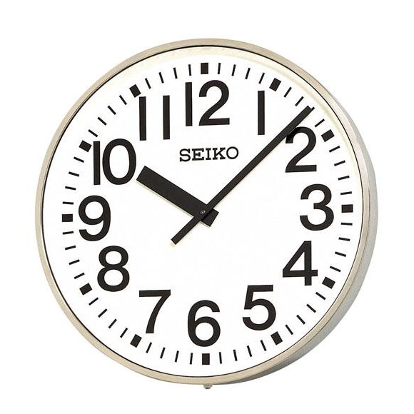 SEIKO セイコー 壁掛型 電波時計・交流電流式 屋外用 (SFC-707R) (検) 時計 掛け時計 掛時計 かけ時計 木製