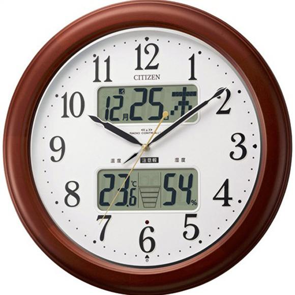 【 送料無料 】【特価2割引】 シチズン 掛け時計 アナログ インフォームナビEX (RY-4FY620-006)