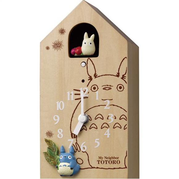 【 送料無料 】【特価2割引】 シチズン 掛け時計 アナログ キャラクター トトロ M898 (RY-4MH898-M06)
