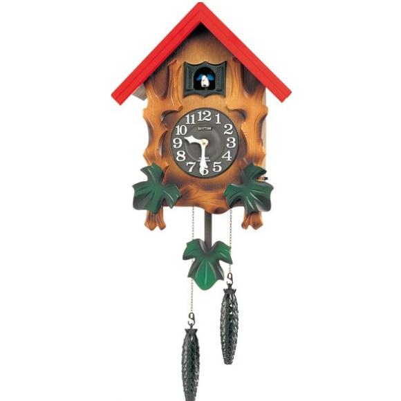 【 送料無料 】【特価2割引】 シチズン 振り子時計 アナログ カッコーメルビルR (RY-4MJ775RH06)