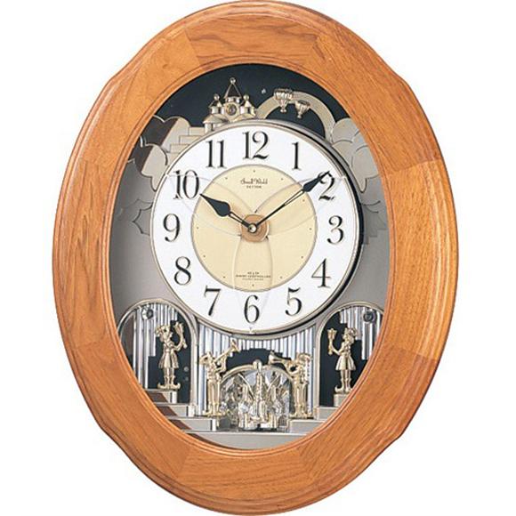 【 送料無料 】【特価2割引】 シチズン 掛け時計 アナログ スモールワールドソルシアF (RY-4MN422RB06)