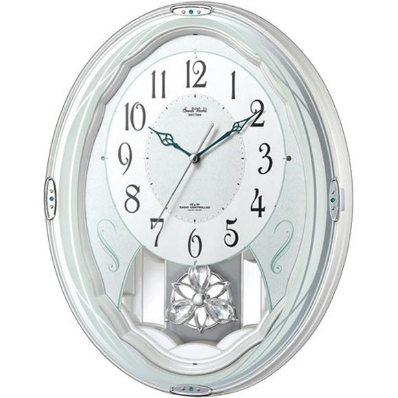 【 送料無料 】【特価2割引】 シチズン 掛け時計 アナログ スモールワールドエルフ (RY-4MN501RH03)