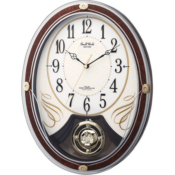 【 送料無料 】【特価2割引】 シチズン 掛け時計 アナログ スモールワールドマリール (RY-4MN508RH06)