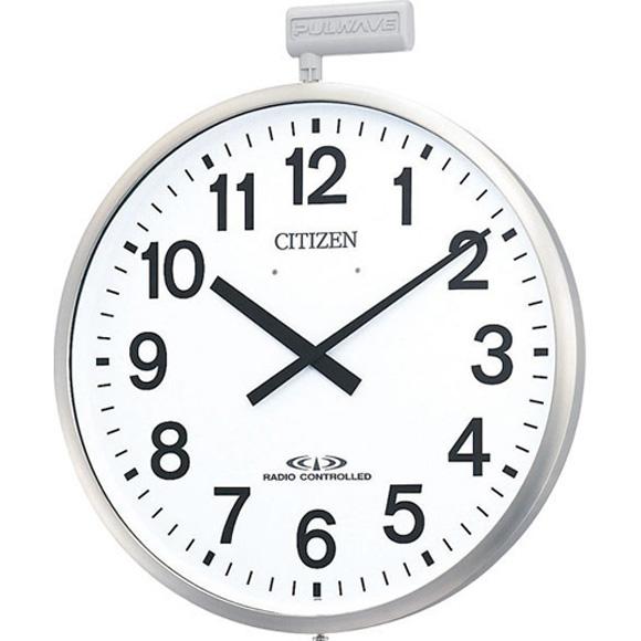 【 送料無料 】【特価2割引】 シチズン 掛け時計 アナログ パルウェーブM611B (RY-4MY611-B19)