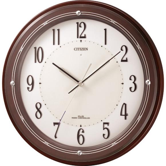 【 送料無料 】【特価2割引】 シチズン 掛け時計 アナログ サイレントソーラーM796 (RY-4MY796-006)