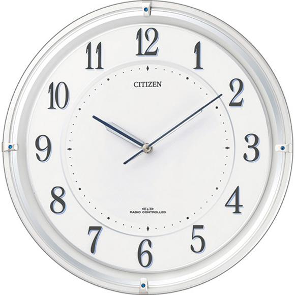 【 送料無料 】【特価2割引】 シチズン 掛け時計 アナログ サイレントソーラーM817 (RY-4MY817-003) *入荷未定