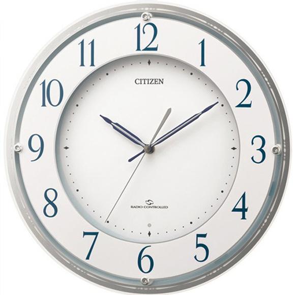 【 送料無料 】【特価2割引】 シチズン 掛け時計 アナログ スリーウェイブM823 (RY-4MY823-003)