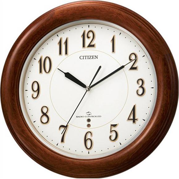 【 送料無料 】【特価2割引】 シチズン 掛け時計 アナログ スリーウェイブM824F (RY-4MY824-N06) 【SALE在庫限り45%OFF】★