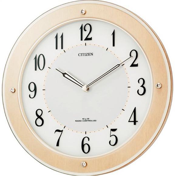 【 送料無料 】【特価2割引】 シチズン 掛け時計 アナログ サイレントソーラーM825 (RY-4MY825-006) *入荷未定