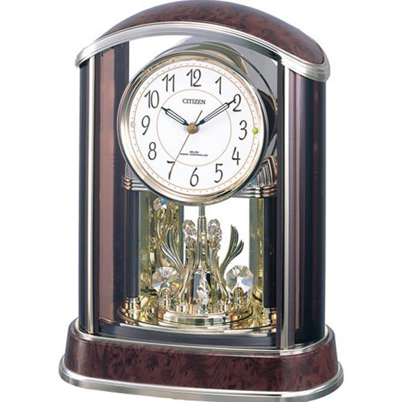 【 送料無料 】【特価2割引】 シチズン 置き時計 アナログ パルアモールR658N (RY-4RY658-N23)