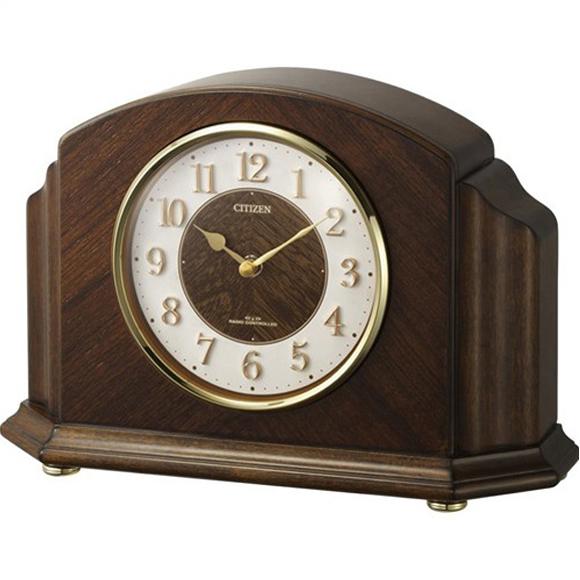 【 送料無料 】【特価2割引】 シチズン 置き時計 アナログ パルロワイエR705F(RY-4RY705-N06)