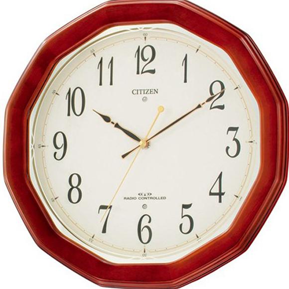【 送料無料 】【特価2割引】 シチズン 掛け時計 アナログ ネムリーナM446 (RY-8MY446-006)