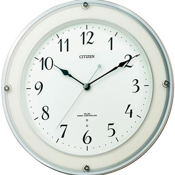 【 送料無料 】【特価2割引】 シチズン 掛け時計 アナログ ミレディラウンド (RY-8MY450-003)