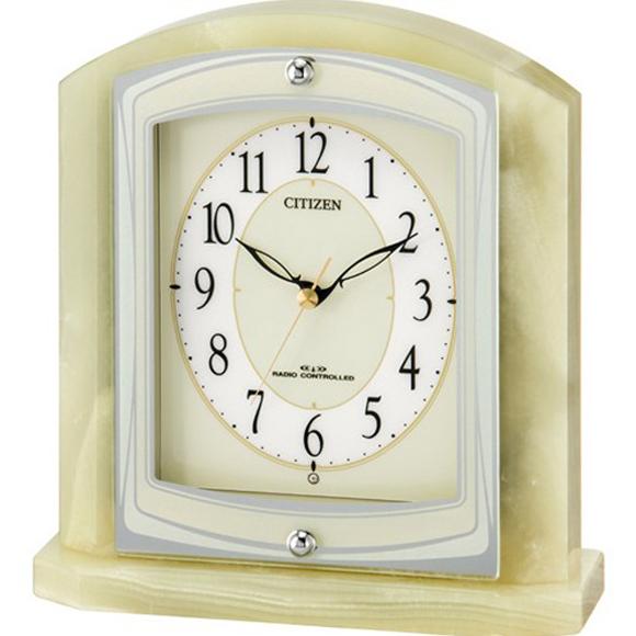 【 送料無料 】【特価2割引】 シチズン 置き時計 アナログ パラフィ-ネR400 (RY-8RY400-005) *次回5月末入荷予定