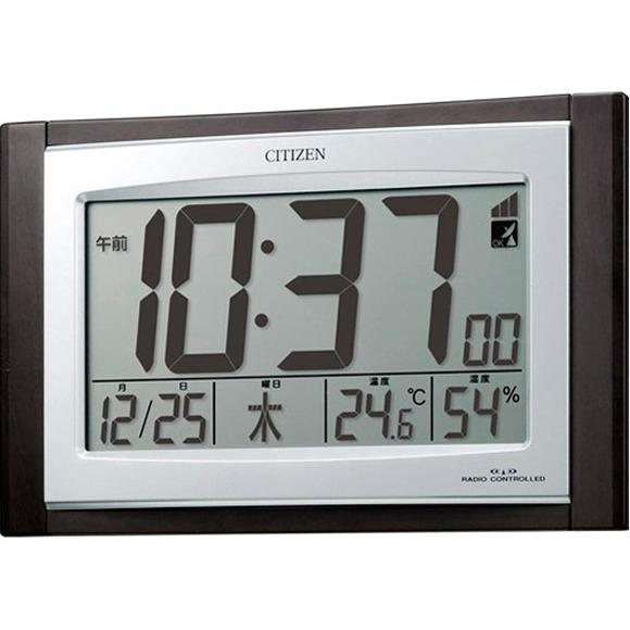 驚きの値段で スーパーセール期間限定 ポイントアップ中 割引クーポン配布中 特価2割引 シチズン 置き時計 パルデジットコンビR096 デジタル RY-8RZ096-023