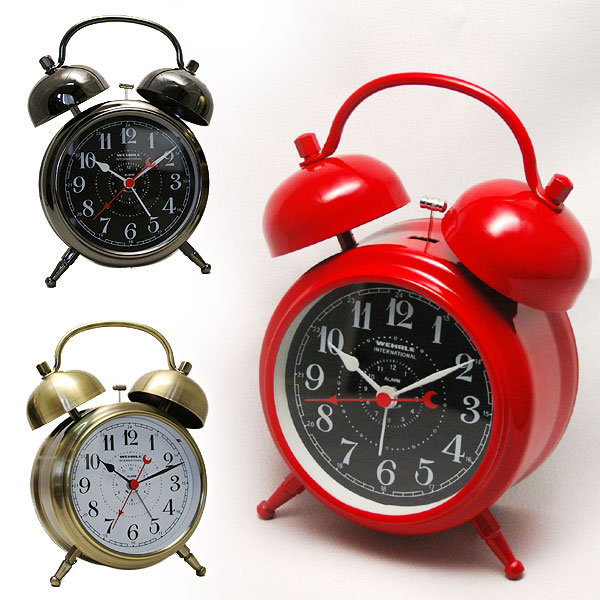 WEHRLE -웨라다브르벨(OPT018)(검) 시계 탁상시계 탁상시계 목제 시계*입하 미정