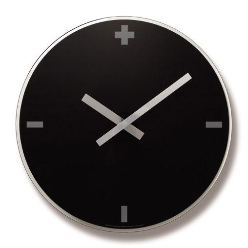 ガラス掛け時計「flow」 (TL-LC06-16) (検) 時計 掛け時計 掛時計 かけ時計 木製