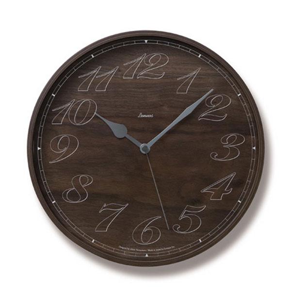 木製時計「Tratto-L」 (TLLC08-08L) (検) 時計 掛け時計 掛時計 かけ時計 木製 *入荷未定