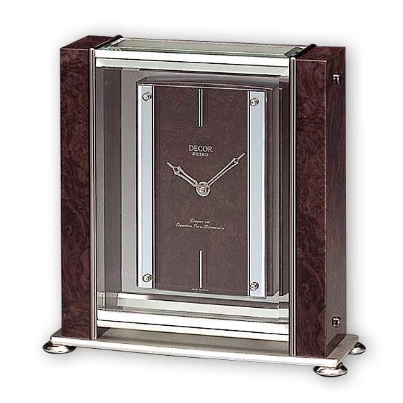 Seiko Decor Clock Az740b Logging Watch Clocks Alarm Table