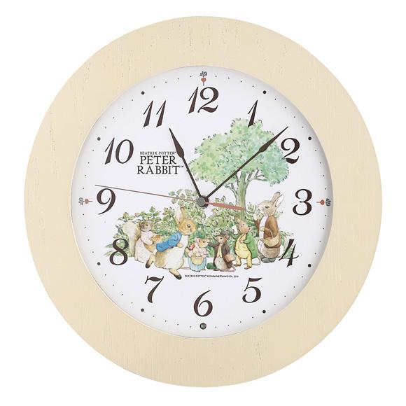 セイコー(SEIKO) 掛け時計 電波時計 木枠 スイープ おやすみ秒針 CL613B