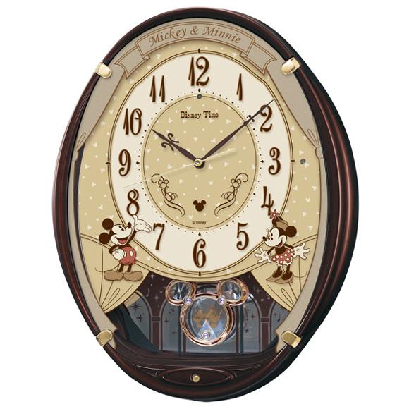 セイコー(SEIKO) 掛け時計 電波時計 メロディ 音量調節 自動鳴止め 飾り振り子 報時モニター スイープ おやすみ秒針 FW579B
