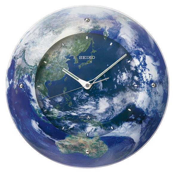 セイコー(SEIKO) 掛け時計 衛星電波時計 スペースリンク スイープ GP218L