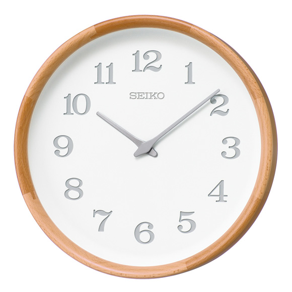 【ポイントアップ中&割引クーポン配布中】セイコー(SEIKO) 掛け時計 電波時計 木枠 KX239H