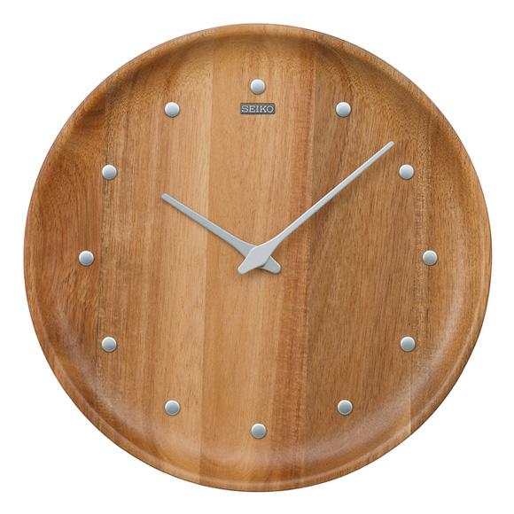 セイコー(SEIKO) 掛け時計 クオーツ 木枠 KX622A