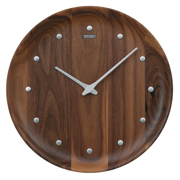セイコー(SEIKO) 掛け時計 クオーツ 木枠 KX622B