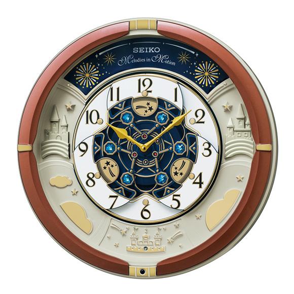 セイコー(SEIKO) からくり時計 クオーツ メロディ 音量調節 自動鳴止め 報時モニター RE601B