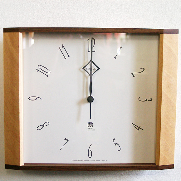 ポイントアップ中 割引クーポン配布中 掛け時計 木製 天然 木 電波 タカタレムノス LC10-01W シンプル 日本製 情熱セール TL-LC10-01W 記念品 ナチュラル 毎日がバーゲンセール