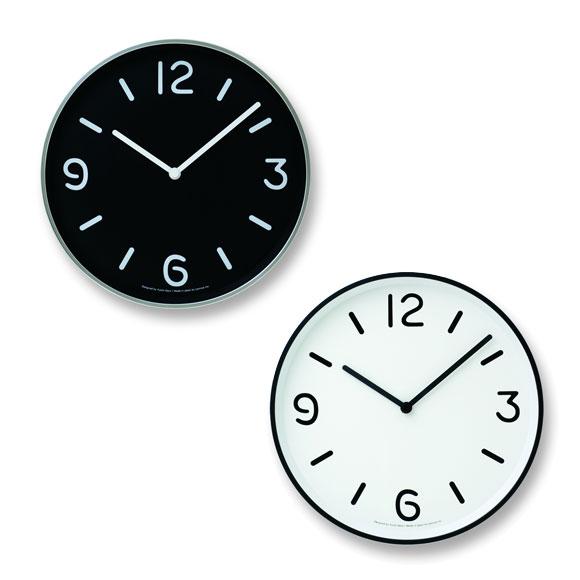 掛け 掛時計 時計 メタル 小型 タカタレムノス モダン シンプル 見やすい 人気 リビング 会社 オフィス 医院 待合室 日本製 結婚祝い 開業祝いアルミ掛け時計「モノ」(TL-LC10-20A)【10P01Oct16】