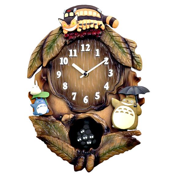 シチズン 掛け時計 となりのトトロ(4MJ837MN06)