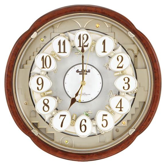 【エントリーで★最大ポイント10倍!】 【 送料無料 】 シチズン からくり時計 スモールワールドコンベルS(4MN480RH23)【10P05Nov16】