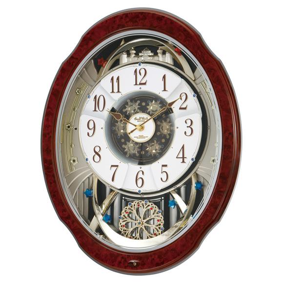 【エントリーで★最大ポイント10倍!】 【 送料無料 】 シチズン からくり時計 スモールワールドブルームDX(4MN499RH23)【10P05Nov16】