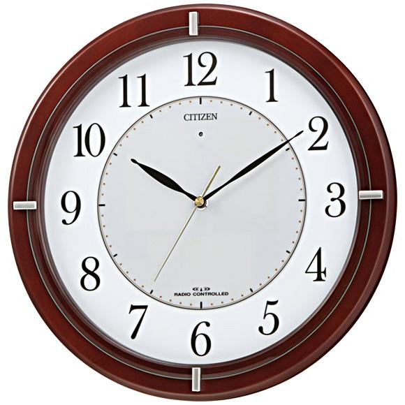 シチズン ソーラー 電波 掛け時計 エコライフM768 4MY768-006 (RY-4MY768-006)