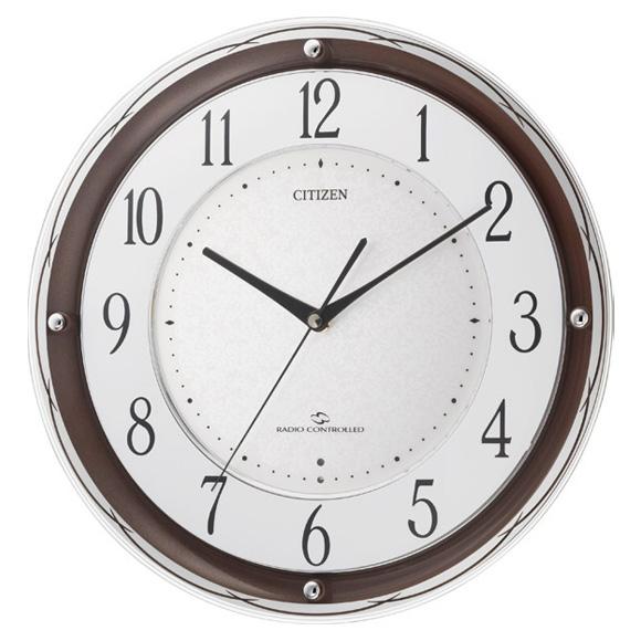 シチズン 掛け時計 スリーウェイブM805(4MY805-006)