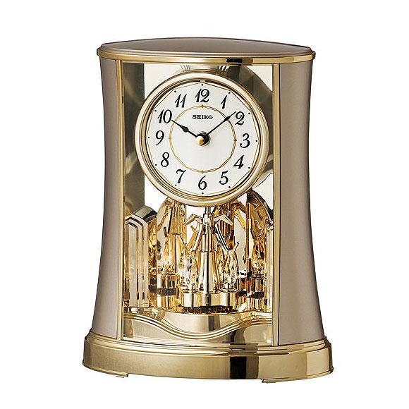 Beautiful §SEIKO( SEIKO) Table Clock Table Clock (BY428G)