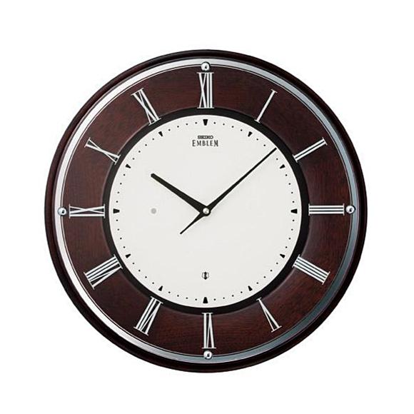 【送料無料】 SEIKO(セイコー) EMBLEM 掛け時計 電波時計 HS540B