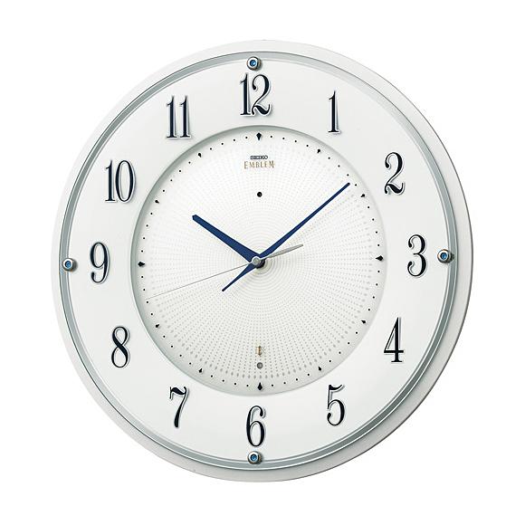 【送料無料】 SEIKO(セイコー) EMBLEM 掛け時計 電波時計 HS543W