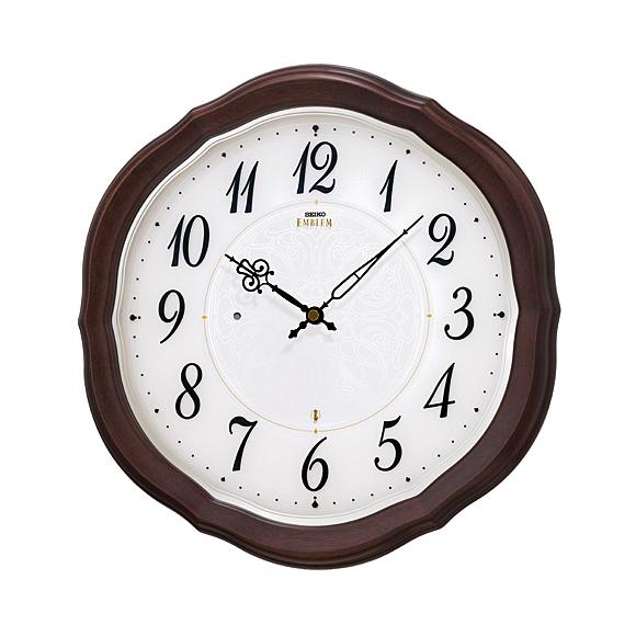 【送料無料】 SEIKO(セイコー) EMBLEM 掛け時計 電波時計 HS544B
