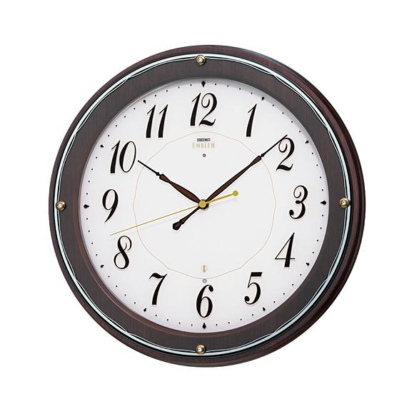 【送料無料】 SEIKO(セイコー) EMBLEM 掛け時計 電波時計 HS545B