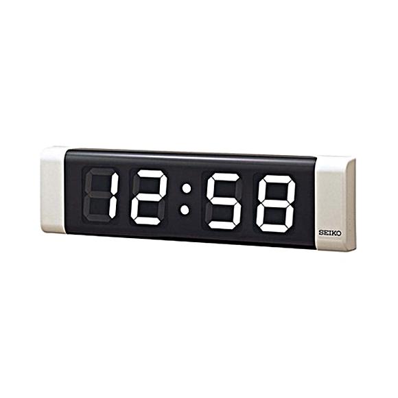 SEIKO(セイコー) 掛け時計 LED式デジタルクロック SLC-100W