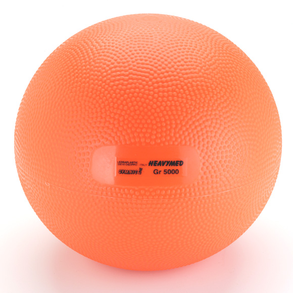 ギムニク バランスボール ヘビーメディシンボール 5kg Med Ball 5 (GY97-35) エクササイズ ヨガ ボール ピラティス 【 送料無料 】