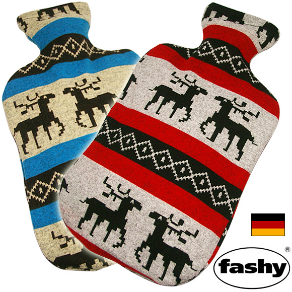 Masumoto (FASHY) hot water bottle-made in Germany reindeer (SStonakai) * douche [hottie fashy yutanpo power measures power disaster disaster supplies electricity heating disaster Ministry of energy-saving health sleep toy]