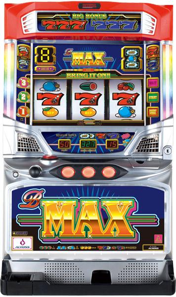 アクロス B-MAX『コイン不要機ゴールドセット』[パチスロ実機/スロット 実機][コイン不要機ゴールド(コイン/コインレス/オートモードプレイ)/家庭用電源/音量調整/ドアキー/設定キー/取扱い説明書付き][中古]