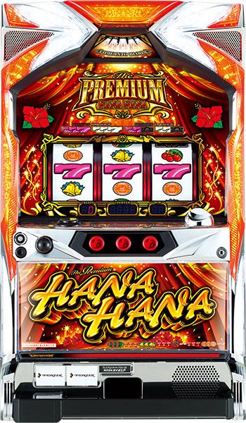 パイオニア プレミアムハナハナ-30『ノーマルセット』[パチスロ実機/スロット 実機][家庭用電源/音量調整/ドアキー/設定キー/取扱い説明書付き][中古]